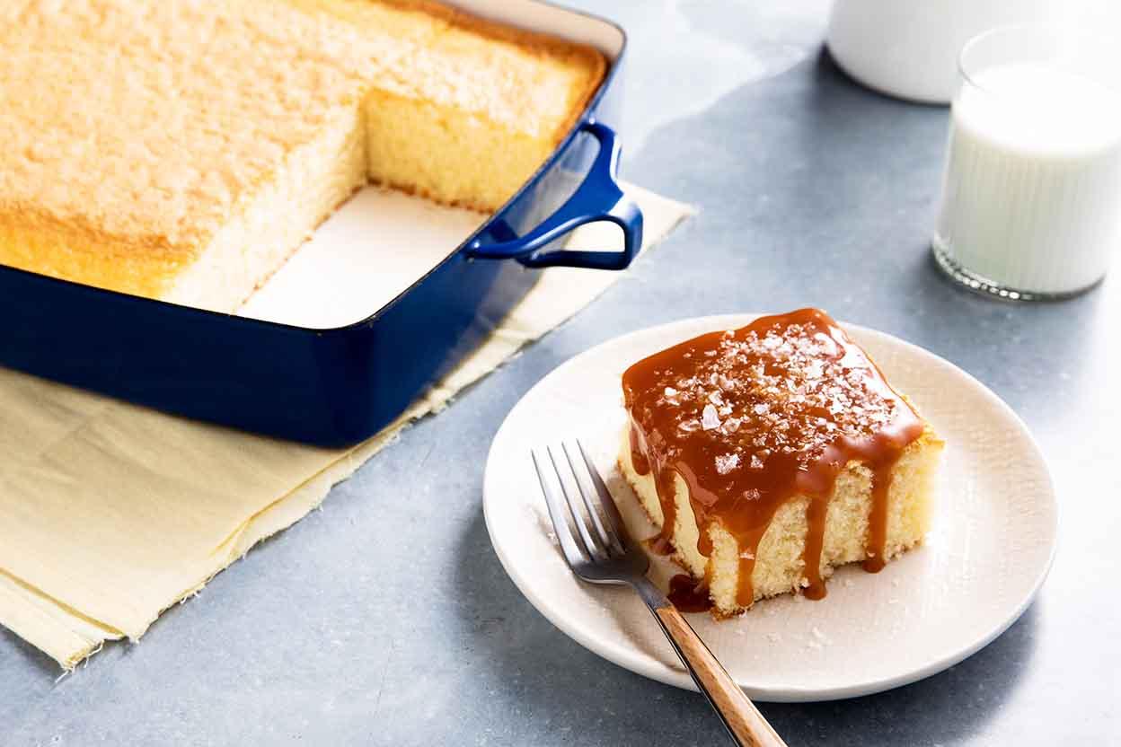 Quick Easy Caramel Cake