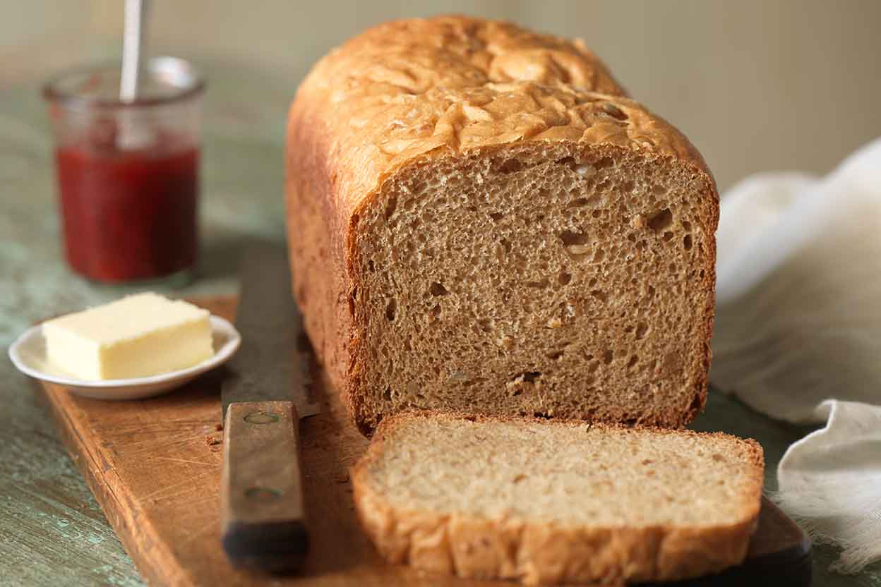 Bread Honey Whole Homemade Wheat