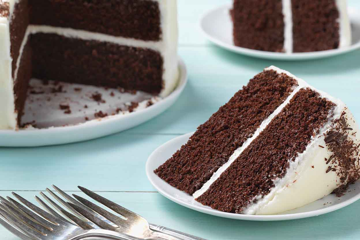 Simple And Rich Chocolate Cake Recipe