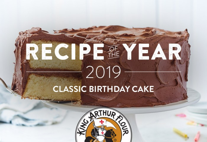 Classic Birthday Cake Recipe King Arthur Flour