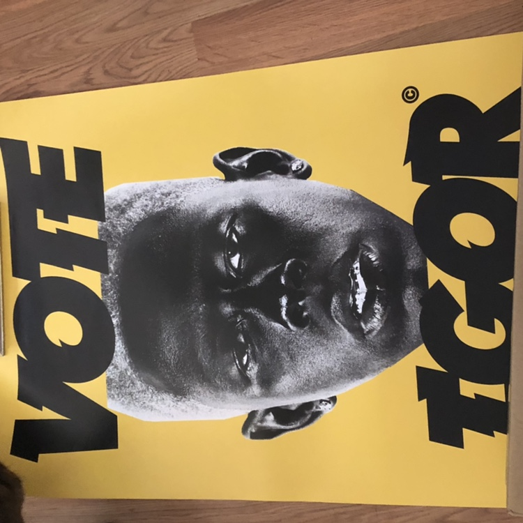 yellow vote igor poster from a bundle i got don t
