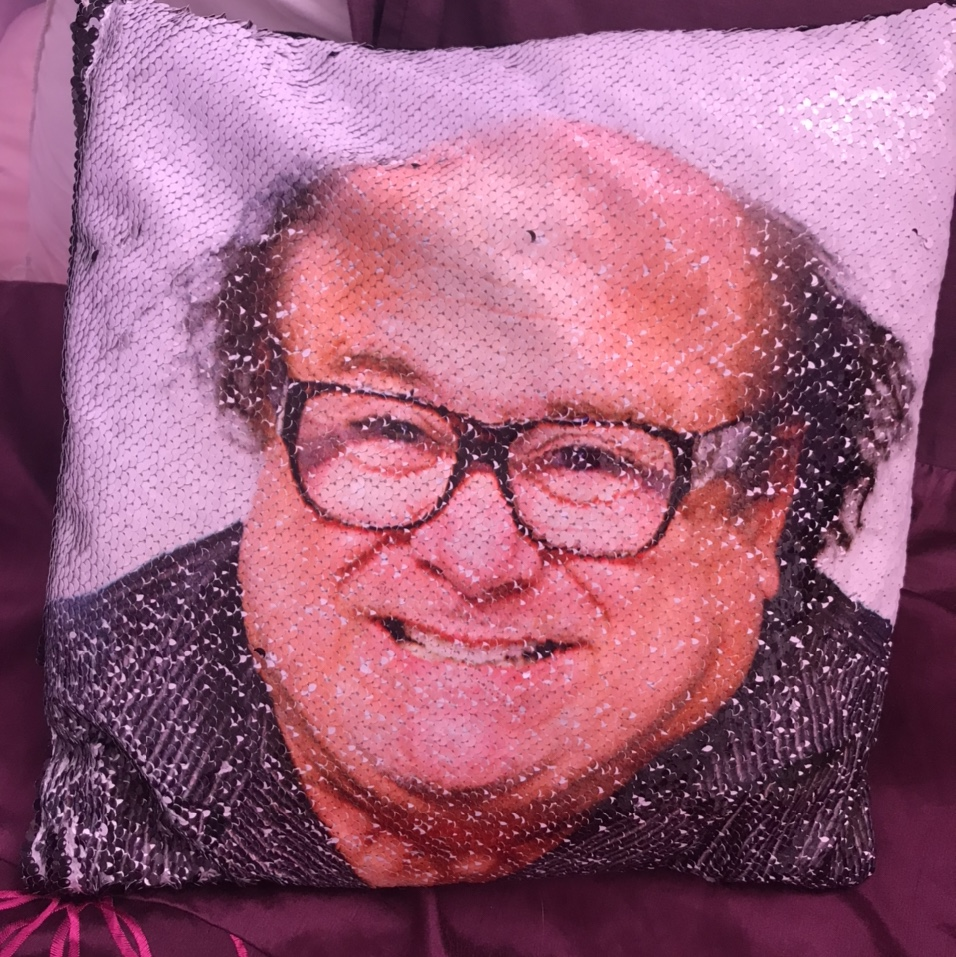 such a sexy pillow i have here a danny devito