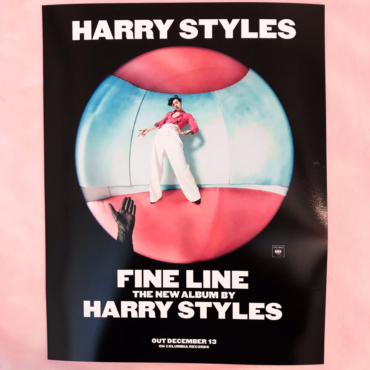 harry styles fine line posters 11x14 with glossy