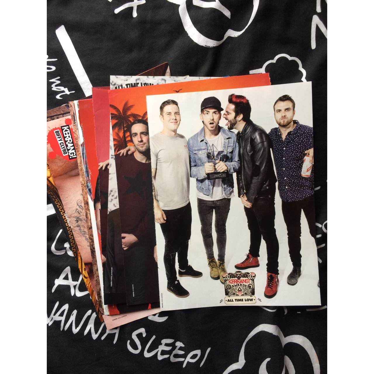poster bundle 22 all time low posters all a4 except