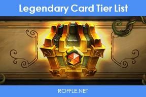 Wild Legendary Card Tier List