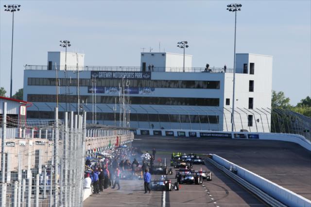 St. Louis recibirá a la IndyCar por primera vez desde 2003 (FOTO: Chris Jones/INDYCAR)
