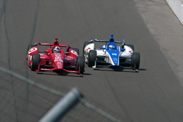La primera etapa de Sato en Rahal es recordada por su lucha en la Indy 500 (FOTO: LAT USA Photo/INDYCAR)