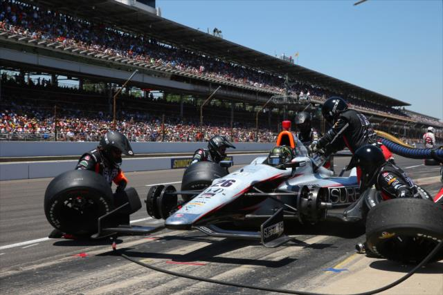 Busch corrió en la Indy 500 en 2014 (FOTO: Chris Jones/INDYCAR)