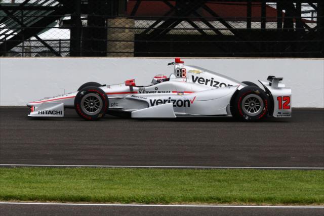De cinco autos de Penske, solo uno (Power) avanzó al Fast Nine (FOTO: Bret Kelley/INDYCAR)