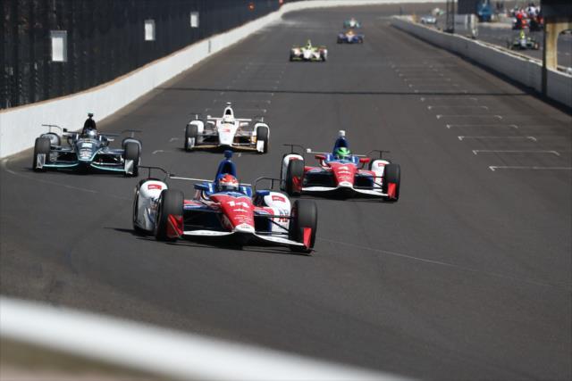 Muñoz finalizó décimo en la Indy 500 de este año (FOTO: Bret Kelley/INDYCAR)