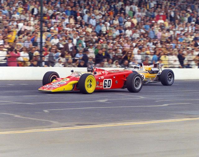 1968 pudo ser el año para Leonard y Andy Granatelli (FOTO: Indianapolis Motor Speedway)