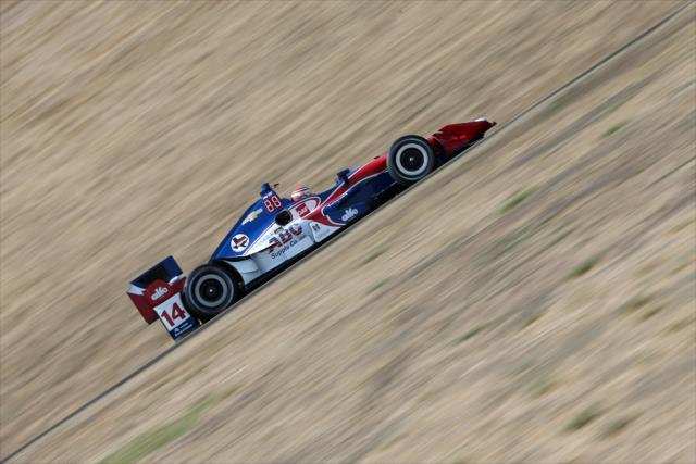 Muñoz concluyó un año difícil con Foyt (FOTO: Joe Skibinski/INDYCAR)