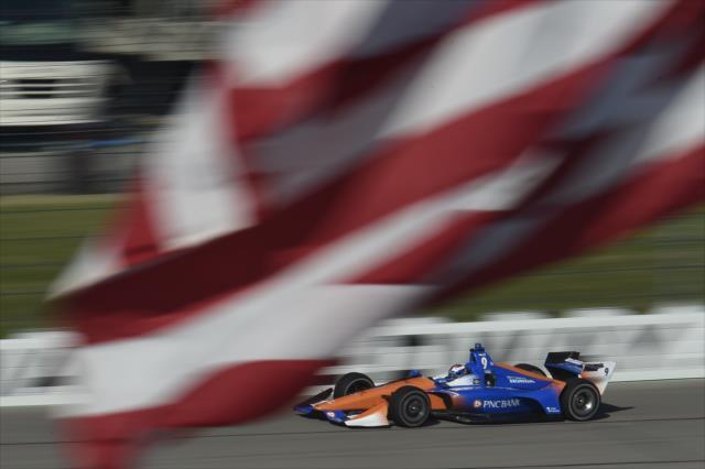 Scott Dixon ganó en las dos carreras que se organizaron en 2013 (FOTO: Chris Owens/IMS, LLC Photo)