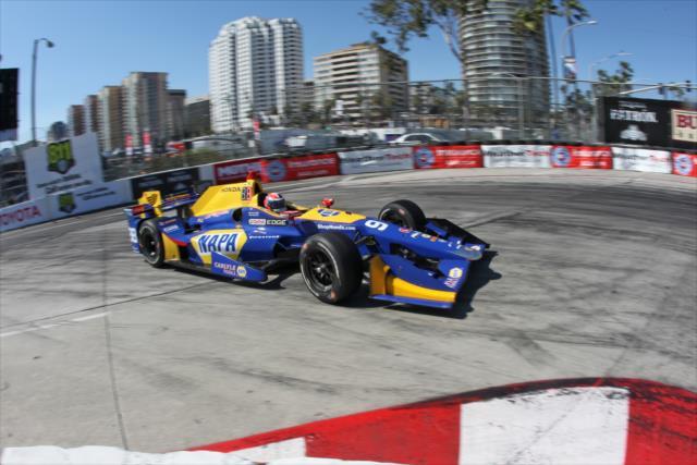 Rossi tenía una gran oportunidad de ganar (FOTO: Richard Dowdy/INDYCAR)