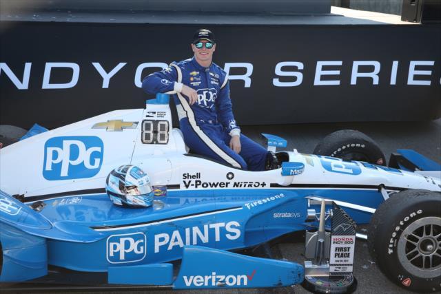 Newgarden lidera el campeonato de IndyCar por primera vez en su trayectoria (FOTO: Chris Jones/INDYCAR)