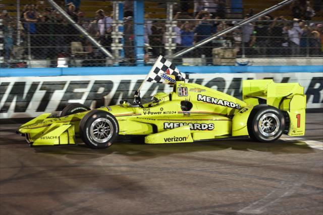 Pagenaud llegó a 11 poles, 11 victorias y 26 podiums en el serial (FOTO: Chris Owens/INDYCAR)