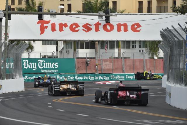 Será la 10° vez en la historia de la especialidad (novena con IndyCar) que una temporada inicia en St. Petersburg (FOTO: Chris Owens/INDYCAR)