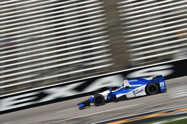 Vautier abandonó en su visita a Texas en 2015, cuando era parte de Dale Coyne Racing (FOTO: Chris Owens/INDYCAR)
