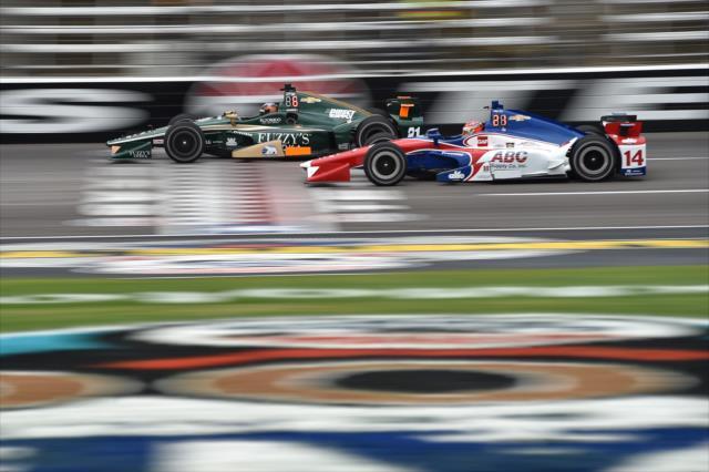 Muñoz se ubica 17° en el campeonato (FOTO: Chris Owens/INDYCAR)