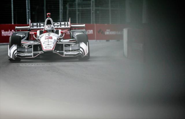 Castroneves sumó 344 arrancadas como regular en la especialidad (FOTO: Shawn Gritzmacher/INDYCAR)