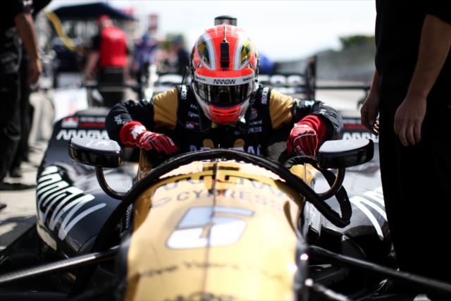 En 2016 y 2017, Hinchcliffe fue 13° en el ranking final de IndyCar (FOTO: Joe Skibinski/INDYCAR)