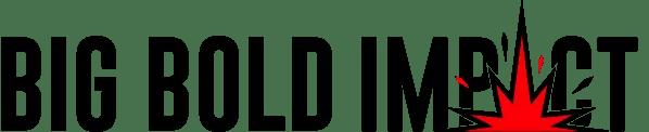 big bold impact logo
