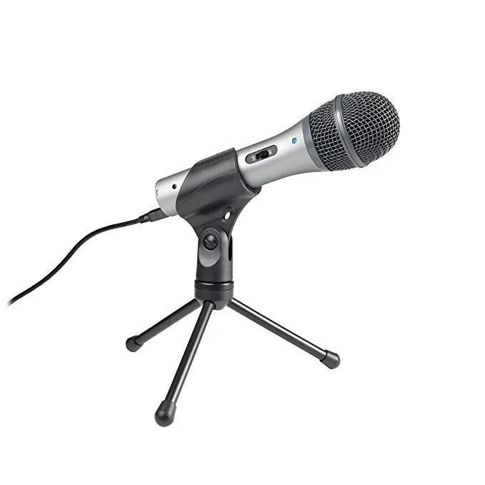 atr-2100 podcasting mic