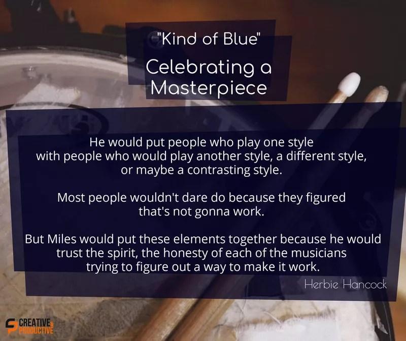 Kind of blue, magic mix