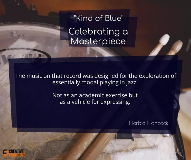 Kind of blue, expression