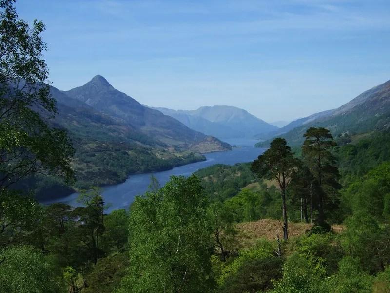 Loch Leven towards the Pap of Glencoe
