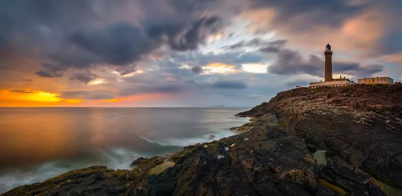 Sunset at Ardnamurchan Lighthouse, Scotland