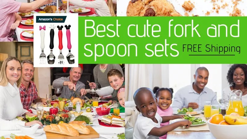 Best cute fork and spoon sets stainless steel
