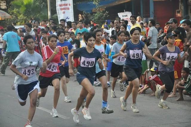 Sports event at Celebrate Bandra Festival