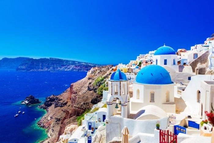 【希臘】愛琴海的絕美沙灘渡假勝地「聖托里尼」觀光導覽大補帖 - TravelBook旅人網