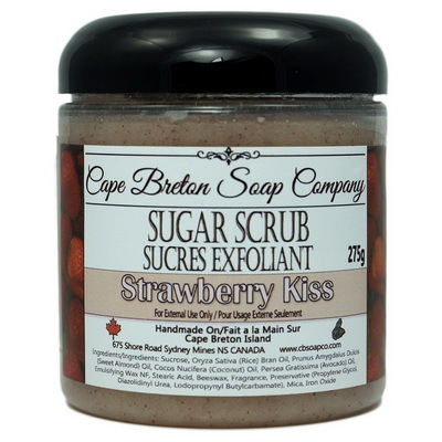 Sugar Scrub - Strawberry Kiss