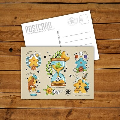 Flash Sheet Postcard