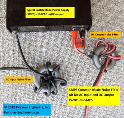 1187030192 - Wall Wart RFI Noise Filter