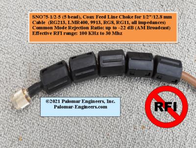 2302699125 - Tube Feed Line Chokes