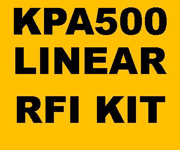 2465476302 - HF Amplifier RFI Kits