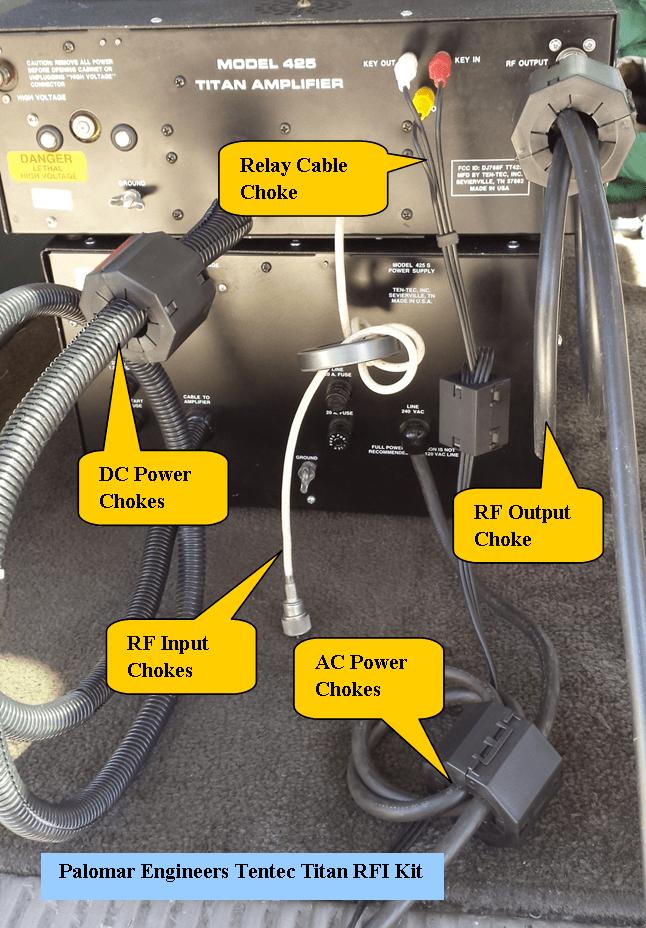 439892102 - HF Amplifier RFI Kits