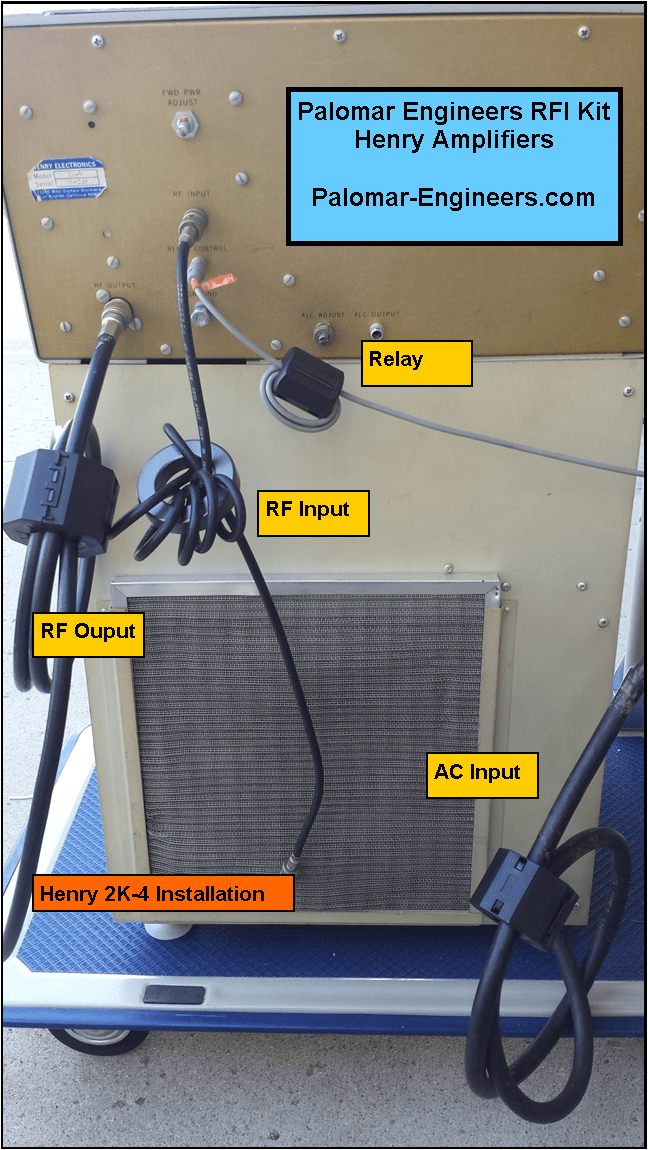 493894277 - HF Amplifier RFI Kits