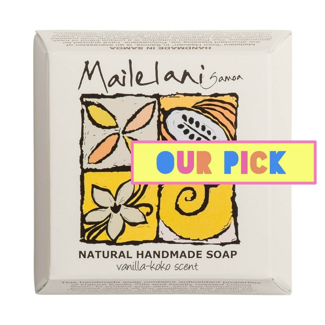 Vanilla & Koko Samoa Natural Handmade Soap 110gm / 3.9 oz
