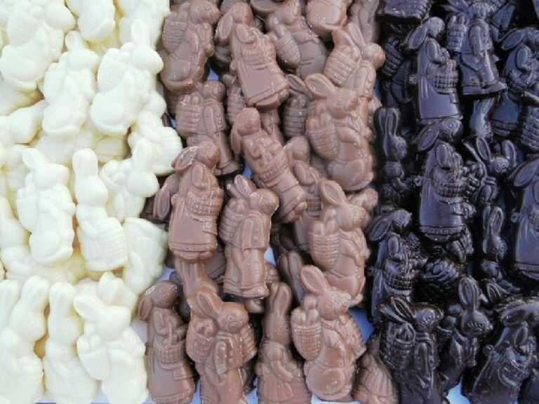 Paas chocolade (wit)