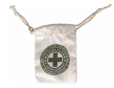 Meowijuana Cotton Muslin Bag