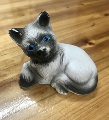 Bisque ware Siamese Cat