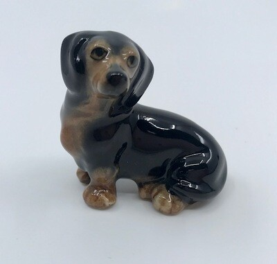 Dachshund Miniatur Porcelain Collectable