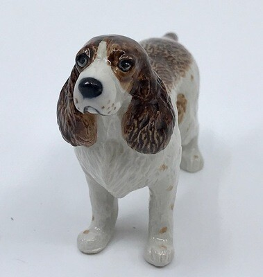 Springer Spaniel Miniature Porcelain Dog