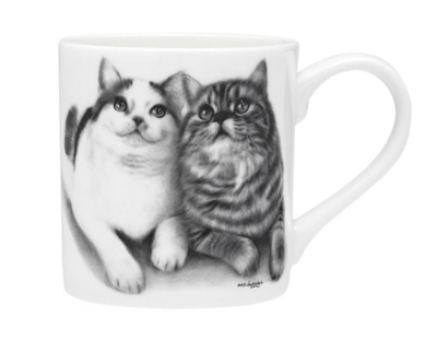 Fixated Friends Cat Mug by Ashdene