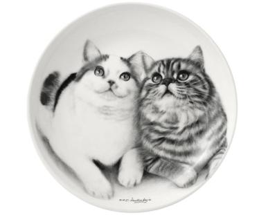 Fixated Felines Cat Trinket Dish by Ashdene