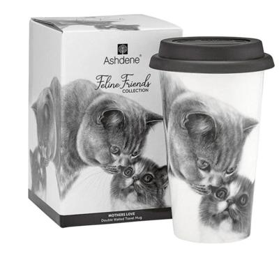Mother's Love Cat Travel Mug by Ashdene